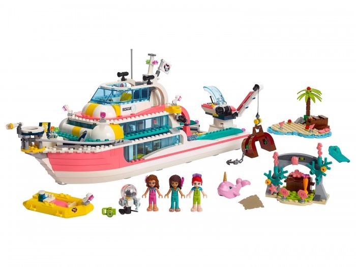 Lego Friends Катер для спасательных операций