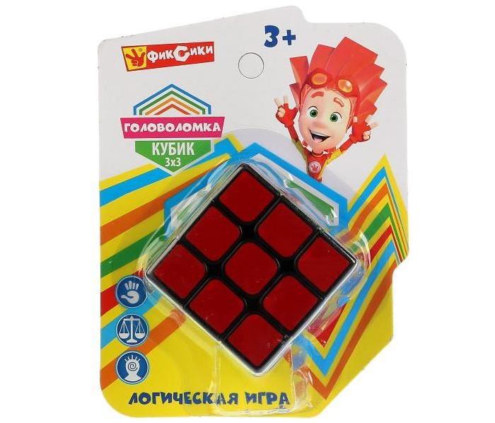 Картинка для Настольные игры Играем вместе Логическая игра Фиксики кубик 3х3