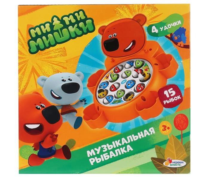 Настольные игры Играем вместе Игра Мимимишки Музыкальная рыбалка