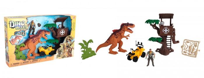 Игровые наборы Chap Mei Игровой набор Охотник на динозавра Дом дереве