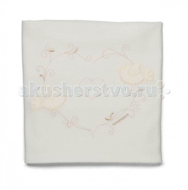 Одеяло Foppapedretti хлопок Baby Nido Cotton Blanket 150x115хлопок Baby Nido Cotton Blanket 150x115При производстве используются исключительно натуральные красители, поэтому детское постельное белье безопасно и гипоаллергенно.  Легкое, теплое и нежное одеяло согреет вашего малыша в прохладные ночи.  Под таким чудесным одеяльцем ему будут сниться только сладкие, прекрасные сны.  Ткань: хлопок<br>