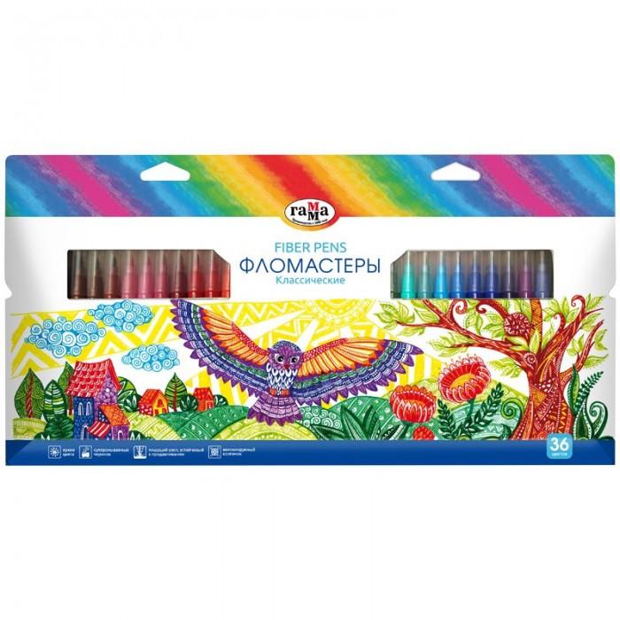 Купить Фломастеры Гамма Классические смываемые 36 цветов в интернет магазине. Цены, фото, описания, характеристики, отзывы, обзоры