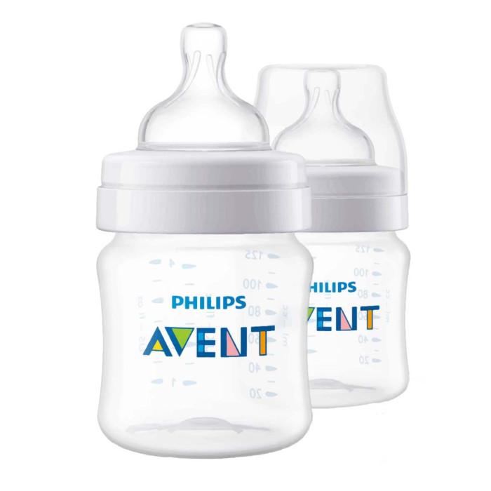 Купить Бутылочки, Бутылочка Philips Avent Anti-colic из полипропилена с 0 мес. 125 мл 2 шт.