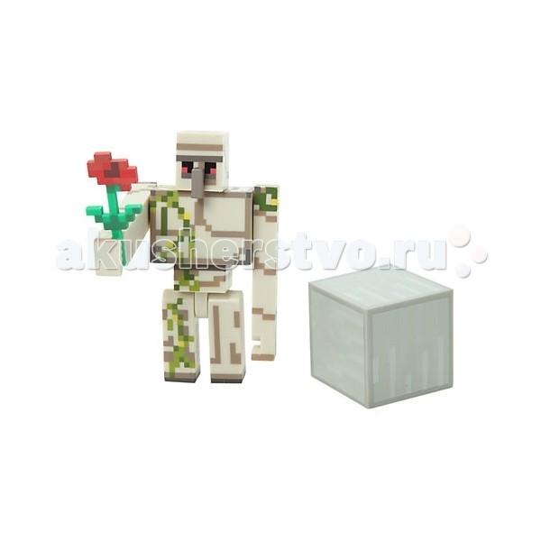Игровые наборы Minecraft Игровой набор Железный Голем 3 предмета цена