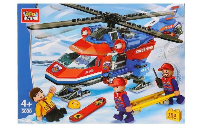 Картинка для Сборные модели Город мастеров Вертолет горных спасателей (190 деталей)