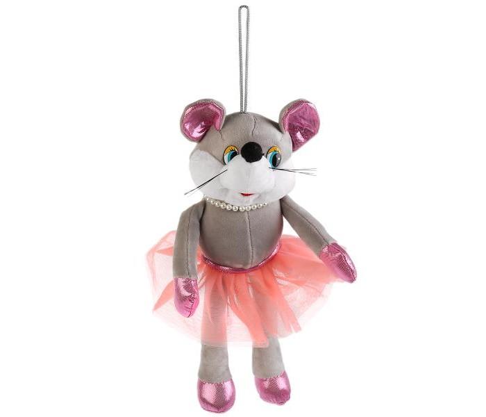 Картинка для Мягкие игрушки Мульти-пульти Мышка с бусами 17 см