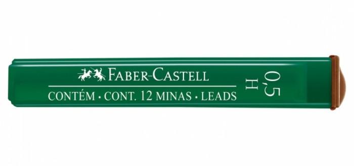 Канцелярия Faber-Castell Грифели для механических карандашей Polymer 0.5 мм H 12 шт. cross грифели для механических кассетных карандашей 0 5 мм 12 шт 1 ластик в кассете