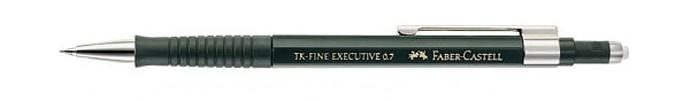 Карандаши, восковые мелки, пастель Faber-Castell Карандаш механический Executive 0.7 мм с ластиком недорого