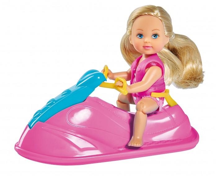 Картинка для Куклы и одежда для кукол Simba Кукла Еви в купальнике на водном скутере 12 см