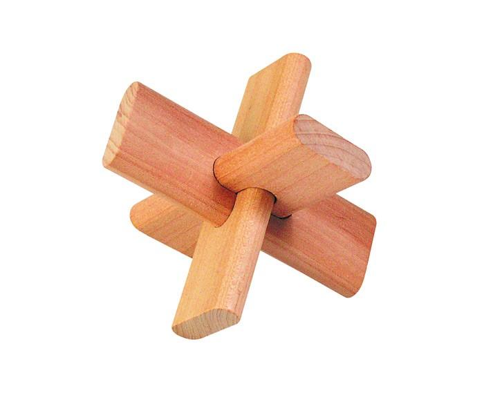 Деревянные игрушки Goki Головоломка Перекресток