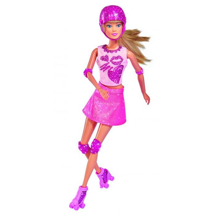 Купить Куклы и одежда для кукол, Simba Кукла Штеффи на роликах 29 см