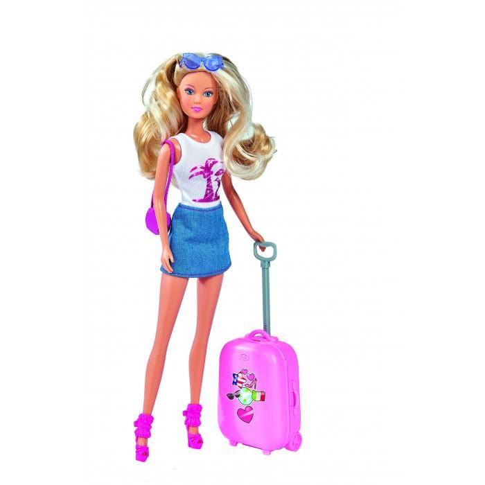 Купить Куклы и одежда для кукол, Simba Кукла Штеффи путешественница 29 см