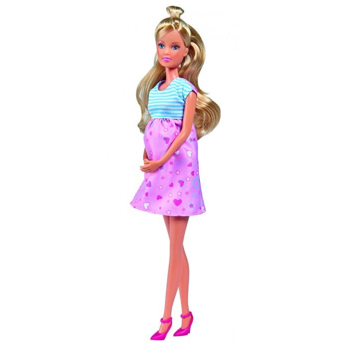 Куклы и одежда для кукол Simba Кукла Штеффи в ожидании малыша 29 см