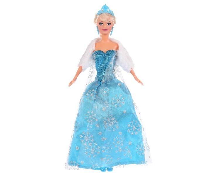 Куклы и одежда для кукол Карапуз Кукла София Снежная принцесса 29 см кукла карапуз герда 29 см снежная королева в голубом платье карапуз