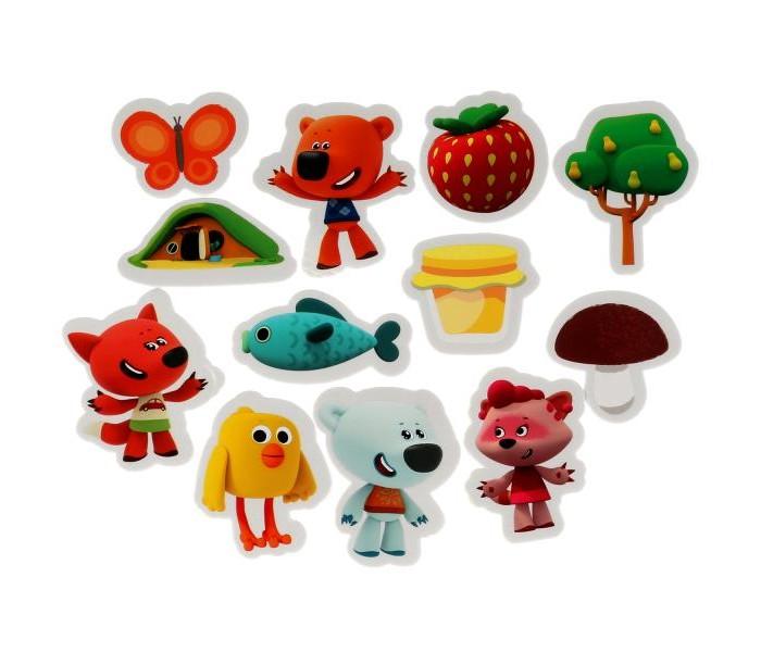 Фото - Игрушки для ванны Капитошка Игрушка для ванны Набор стикеров Мимимишки 12 шт. игрушки для ванны капитошка игрушка для купания кот леопольд