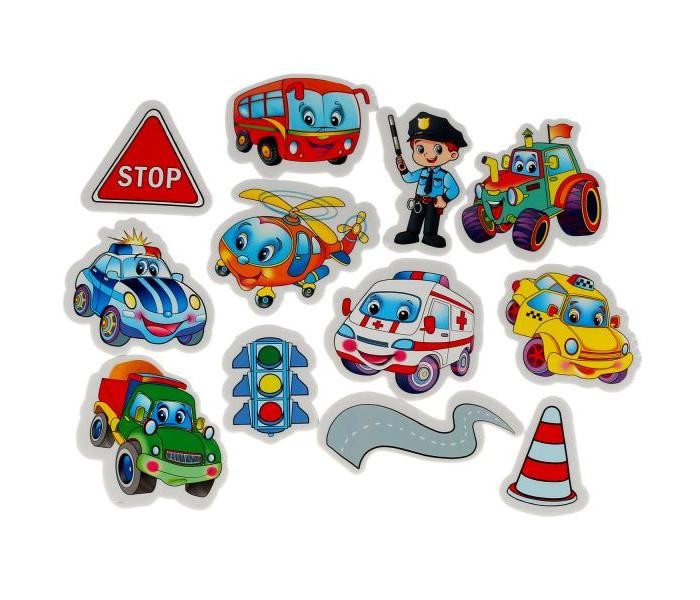 Фото - Игрушки для ванны Капитошка Игрушка для ванны Набор стикеров Машинки 12 шт. игрушки для ванны капитошка игрушка для купания кот леопольд