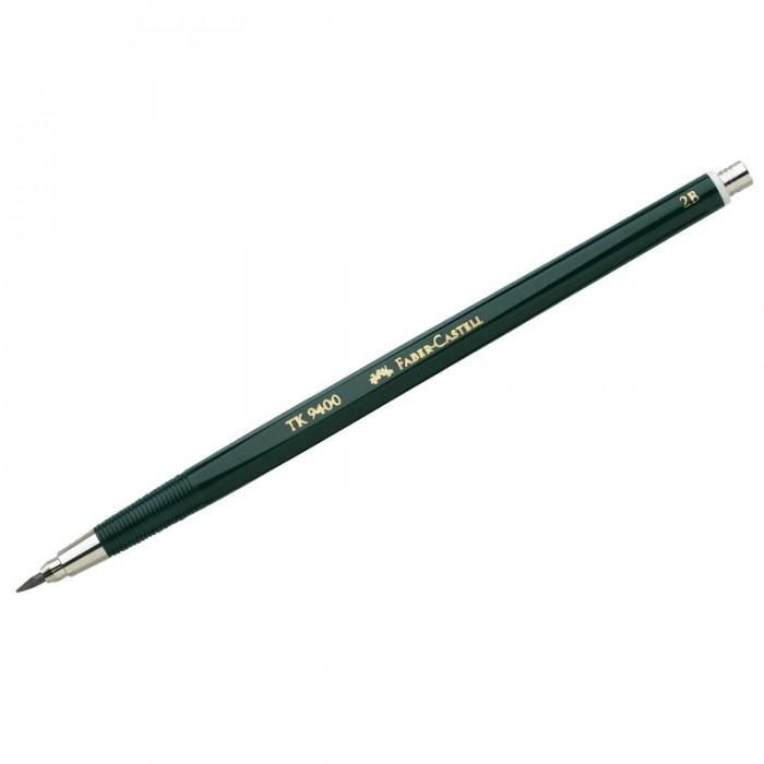 Карандаши, восковые мелки, пастель Faber-Castell Карандаш цанговый TK 9400 2.0 мм 2B