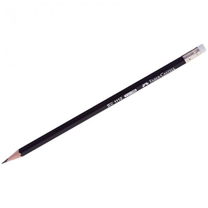 Карандаши, восковые мелки, пастель Faber-Castell Карандаш чернографитовый 1112 HB