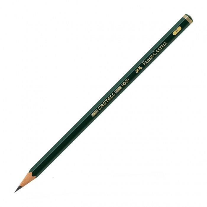 Фото - Карандаши, восковые мелки, пастель Faber-Castell Карандаш чернографитный Castell 9000 F карандаш чернографитный castell 9000 jumbo 8в