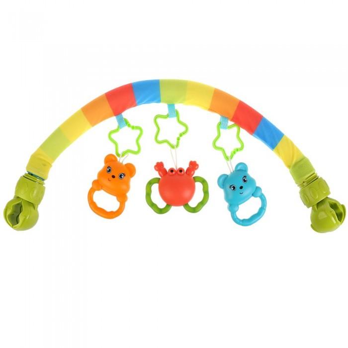 Картинка для Дуги для колясок и автокресел Умка Дуга с игрушками на подвески
