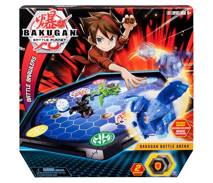 Bakugan Игровой набор с ареной и фигуркой-трансформером