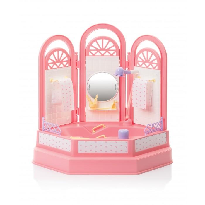 Кукольные домики и мебель Огонек Ванная комната Маленькая принцесса