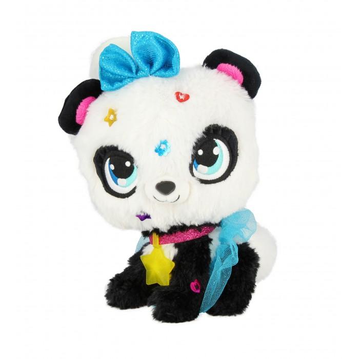 Мягкая игрушка Shimmer Stars Плюшевая панда с сумочкой 20 см
