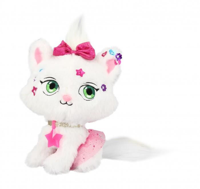 Мягкая игрушка Shimmer Stars Плюшевый котенок с сумочкой 20 см фото