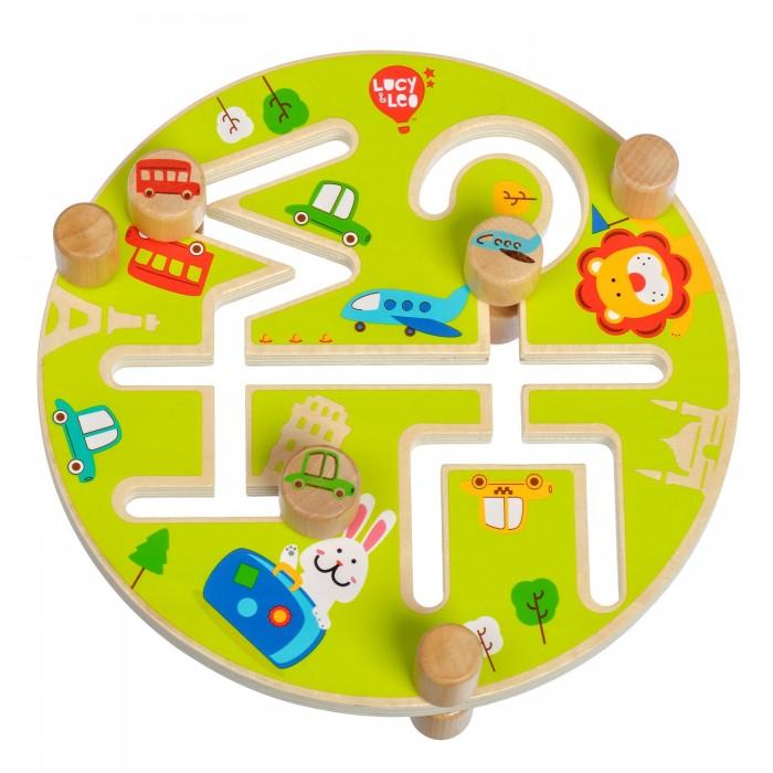 Деревянные игрушки Lucy & Leo Счастливое путешествие недорого