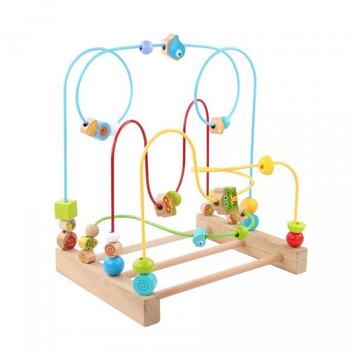 Деревянные игрушки Lucy & Leo Большой лабиринт №1 деревянные игрушки lucy leo каталка лабиринт корова