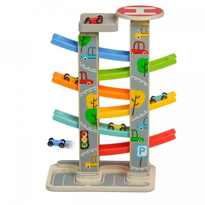 Купить Деревянные игрушки, Деревянная игрушка Lucy & Leo Большая быстрая горка