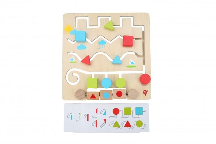Купить Деревянные игрушки, Деревянная игрушка Lucy & Leo Лабиринт Умные фигуры