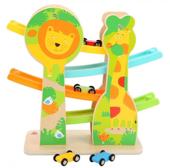 Купить Деревянные игрушки, Деревянная игрушка Lucy & Leo Быстрая горка Сафари
