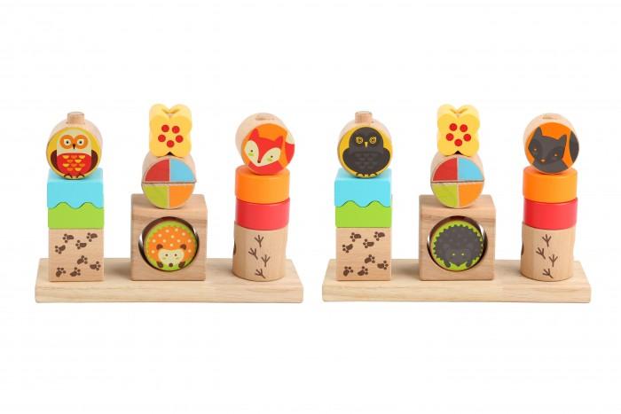 Купить Деревянные игрушки, Деревянная игрушка Lucy & Leo Игра-сортер День и ночь