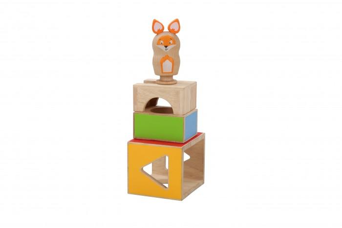 Купить Деревянные игрушки, Деревянная игрушка Lucy & Leo Обучающий набор Ловкий Лис