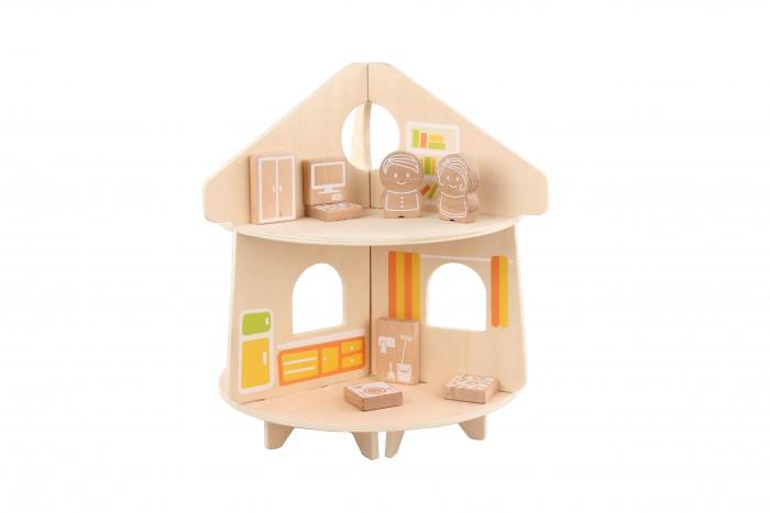 Купить Кукольные домики и мебель, Lucy & Leo Кукольный домик круглый