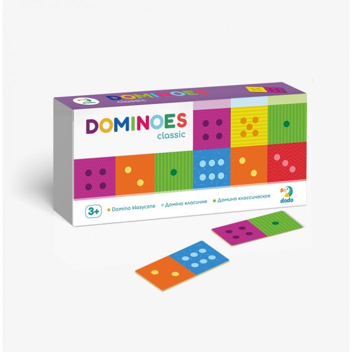 Фото - Настольные игры Dodo Настольная игра Домино детское Классическое настольные игры dodo настольная карточная игра болтун