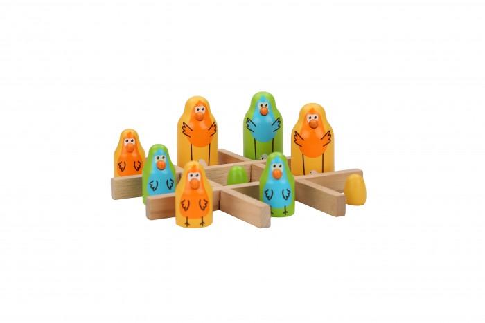 Деревянные игрушки Lucy Leo Настольная игра Найди птицу деревянные игрушки lucy leo магический треугольник
