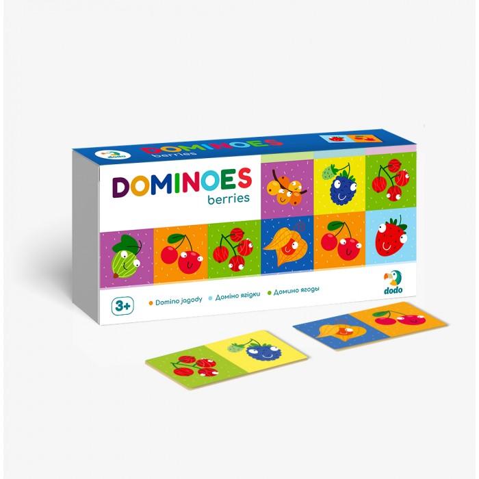 Фото - Настольные игры Dodo Настольная игра Домино детское Ягоды настольные игры dodo настольная карточная игра болтун