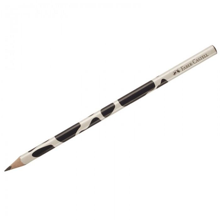 Карандаши, восковые мелки, пастель Faber-Castell Карандаш чернографитный Triangular Cow B