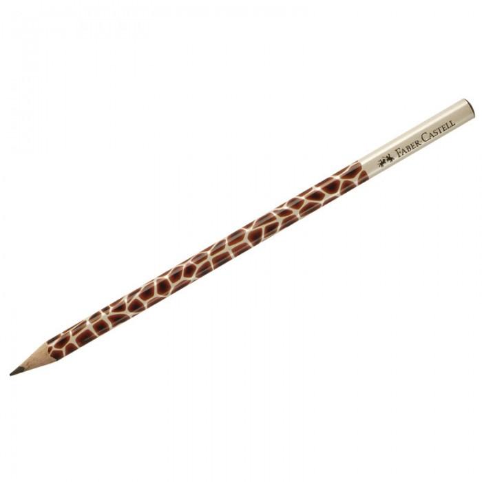 Карандаши, восковые мелки, пастель Faber-Castell Карандаш чернографитный Triangular Giraffe B