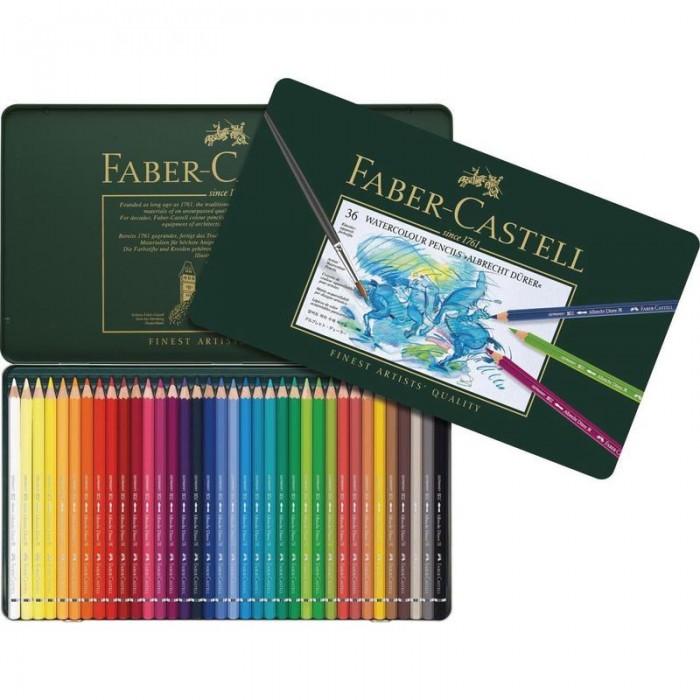 Купить Карандаши, восковые мелки, пастель, Faber-Castell Карандаши акварельные художественные Albrecht Durer 36 цветов