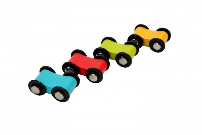 Деревянные игрушки Lucy Leo Набор гоночных автомобилей