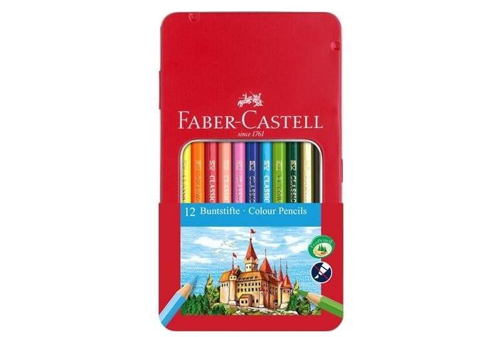 Купить Карандаши, восковые мелки, пастель, Faber-Castell Карандаши цветные 12 шт. 115801