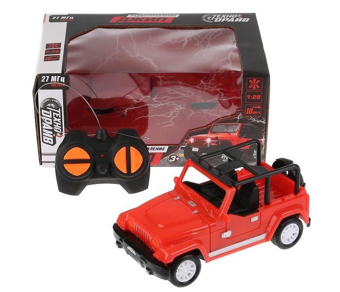джип р у бигфут 1 18 технодрайв на бат Радиоуправляемые игрушки Технодрайв Джип на радиоуправлении 1:20 T490-D4803-R