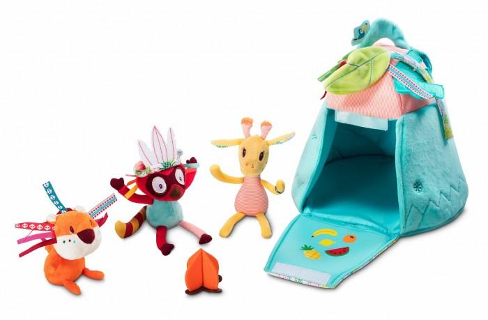 Купить Развивающие игрушки, Развивающая игрушка Lilliputiens Набор игровой Вигвам