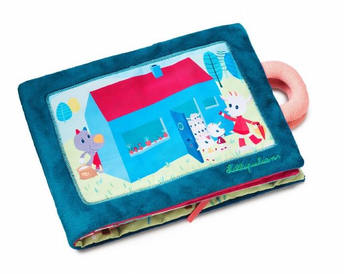 Книжки-игрушки Lilliputiens Книжка мягкая Волк и семеро козлят