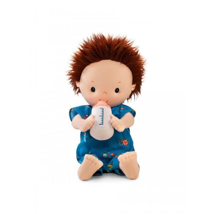 Куклы и одежда для кукол Lilliputiens Кукла Ноа мягкая с бутылочкой