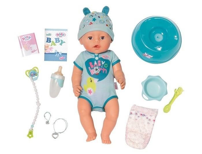Купить Куклы и одежда для кукол, Zapf Creation Кукла-мальчик Baby born интерактивная 43 см