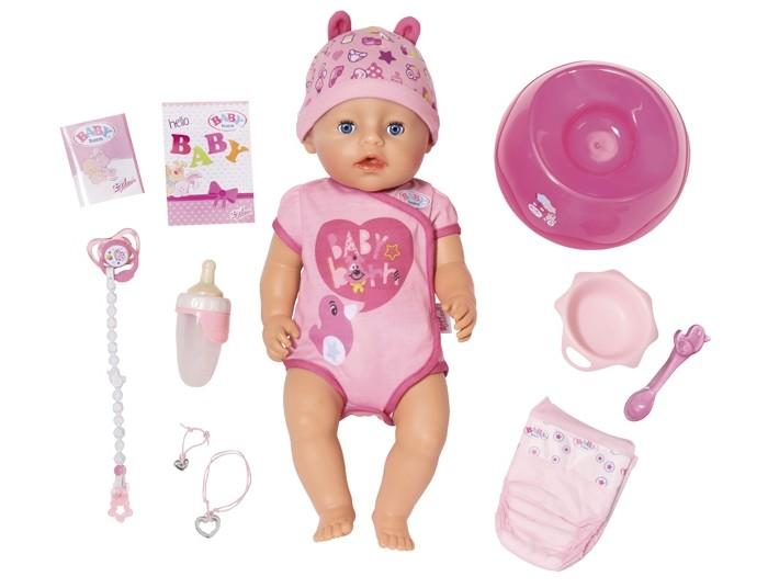 Купить Куклы и одежда для кукол, Zapf Creation Кукла Baby born интерактивная 43 см